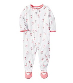 Carter's® Girls' 12 Months-5T Mouse Ballerina One Piece Cotton Pajamas