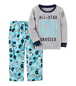 Carter's® Boys' 5T-8 2 Piece All Star Pajama Set
