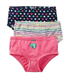 Carter's Girls' 3-Pack Cotton Panties
