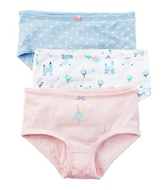 Carter's Girls' 3-Pack Princess Underwear