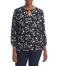 MICHAEL Michael Kors® Plus Size Verbena Peasant Top