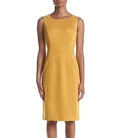 Kasper® Seamed Marigold Dress