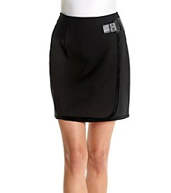 Ivanka Trump® Buckle Skirt