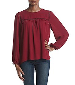 Ivanka Trump® Scarlet Lace Blouse