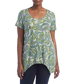 Chelsea & Theodore® Plus Size Crew Neck Top