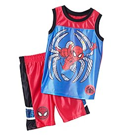 Spider-Man® Boys' 2T-7 2 Piece Spider-Man Muscle Shirt And Shorts Set