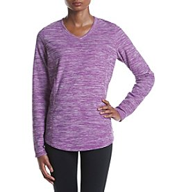 Exertek® V-Neck Micro Fleece Top