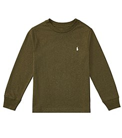 Polo Ralph Lauren® Boys' 2T-20 Cotton Jersey Crewneck Tee