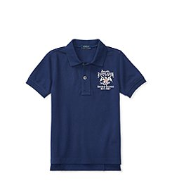Polo Ralph Lauren® Boys' 2T-20 Short Sleeve Flag Tee