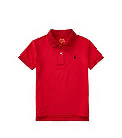 Polo Ralph Lauren® Boys' 2T-20 Stretch Lisle Polo Shirt