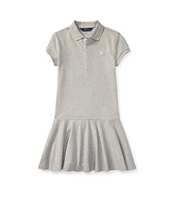 Polo Ralph Lauren® Girls' 2T-16 Mesh Short-Sleeve Polo Dress