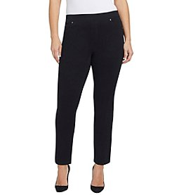 Gloria Vanderbilt® Plus Size Avery Pull On Slim Pants