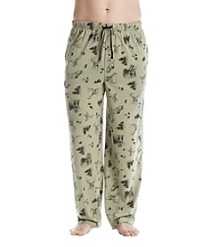 John Bartlett Statements Forrest Printed Knit Pants