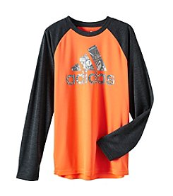 adidas® Boys' 8-20 Long Sleeve All Sports Logo Tee