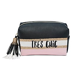 Tricoastal Tres Chic Loaf Cosmetic Bag