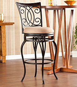 Southern Enterprises Maguire Swivel Bar Stool