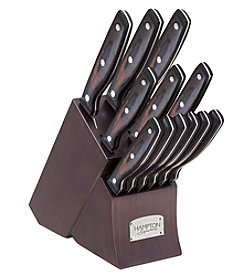 Hampton Signature® Norwood 13-Piece Cutlery Block Set