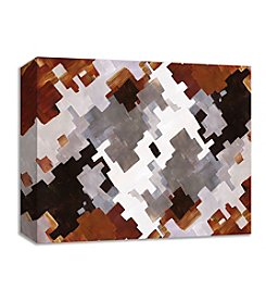 PTM Images Puzzle Brown Wall Art