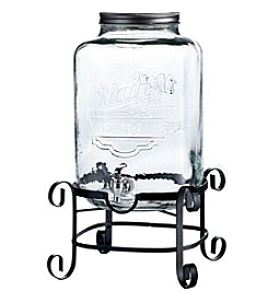 Style Setter Main St. Beverage Dispenser with Stand