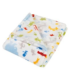 Trend Lab Dr. Seuss Friends Plush Baby Blanket
