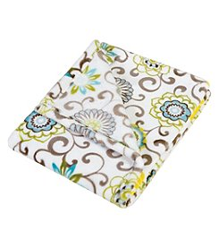 Waverly Baby by Trend Lab Pom Pom Spa Plush Baby Blanket