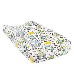 Waverly Baby by Trend Lab Pom Pom Spa Plush Changing Pad Cover