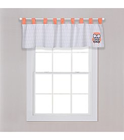 Trend Lab Olive Owl Window Valance
