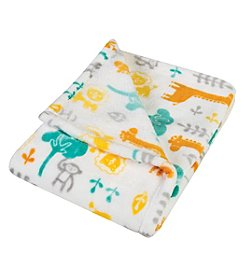 Trend Lab Lullaby Jungle Plush Baby Blanket