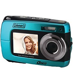Coleman 18.0-megapixel Dual-screen Waterproof HD Digital Camera
