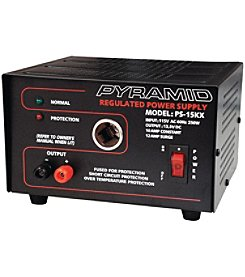 Pyramid 13.8-Volt Power Supply With Car-charger Adapter