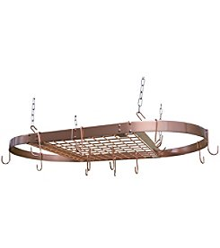 Range Kleen Copper Oval Pot Rack