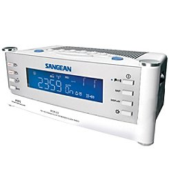 Sangean AM/FM Atomic Clock Radio With LCD Display