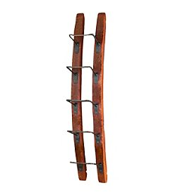 Wine Enthusiast Barrel-stave Wall Wine Rack