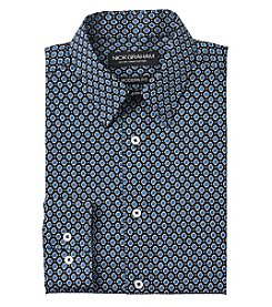 Nick Graham® Men's Long Sleeve Dress Shirt
