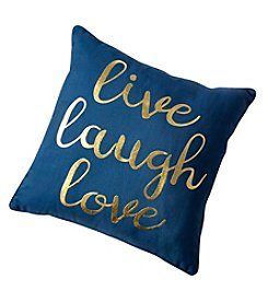 Laurette Live Laugh Love Decorative Pillow