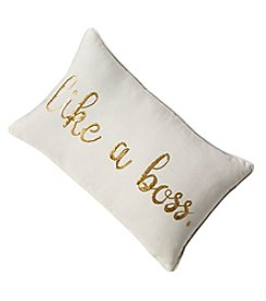 Like A Boss Decorative Pillow