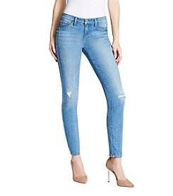 Jessica Simpson Ramone Rip And Repair Skinny Jeans