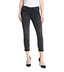 Jessica Simpson Forever Roll Destructed Ankle Jeans