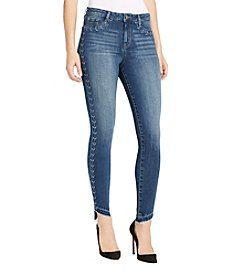 William Rast® Sculpted Highrise Embroidered Jeans