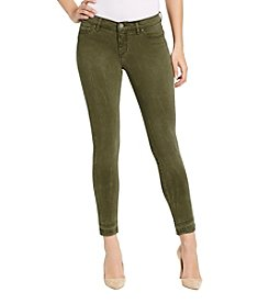 William Rast® Twill Skinny Ankle Jeans