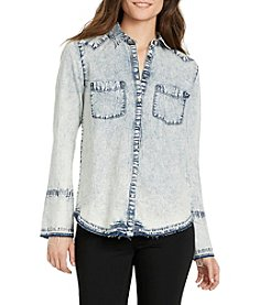 William Rast® Mercer Chambray Top