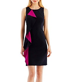 Nicole Miller New York™ Cascade Ruffle Shift Dress