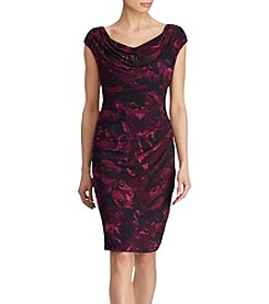Lauren Ralph Lauren® Printed Draped Dress