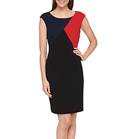 Tommy Hilfiger® Colorblock Scuba Crepe Dress