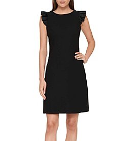 Tommy Hilfiger® Ruffle Sleeve Shift Dress