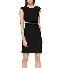 Tommy Hilfiger® Ribbed Ponte Dress