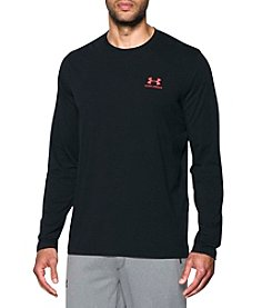 Under Armour® Men's Lockup Left Chest Logo Short Sleeve Tee