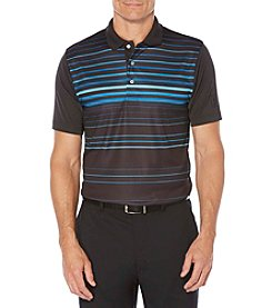 PGA TOUR® Men's Printed Laser Stripe Polo Shirt