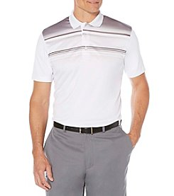 PGA TOUR® Men's Short Sleeve Striped Polo