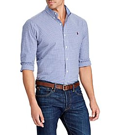 Polo Ralph Lauren® Men's Big & Tall Long Sleeve Sport Shirt